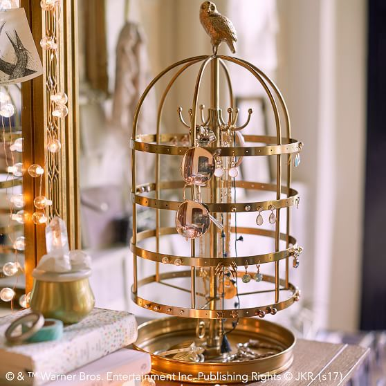 Harry Potter Hedwig Jewelry Cage Pottery Barn