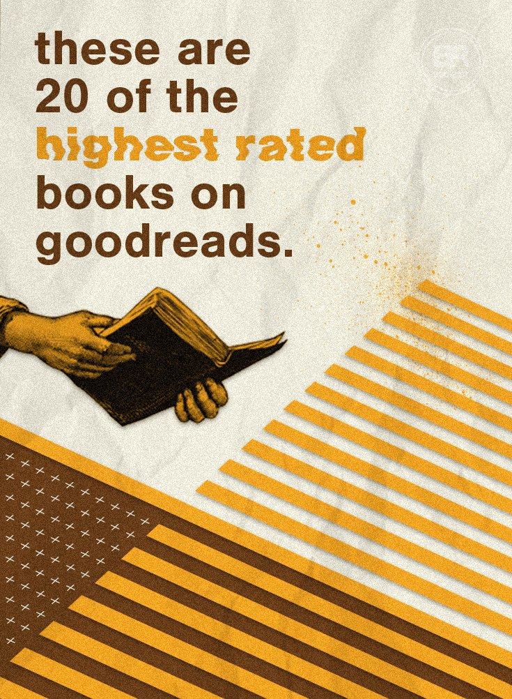 These Are 20 Of The Highest Rated Books On Goodreads Book Riot