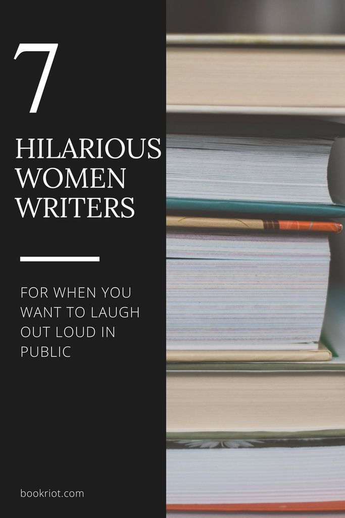 Hilarious women writers    | book lists | funny books | books to laugh while reading