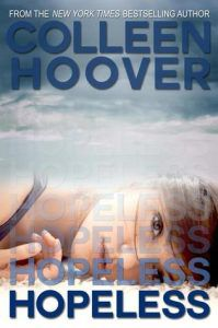 hopeless by colleen hoover cover