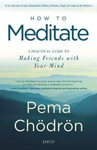 how to meditate book cover