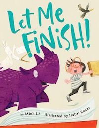 Let Me Finish Book Cover