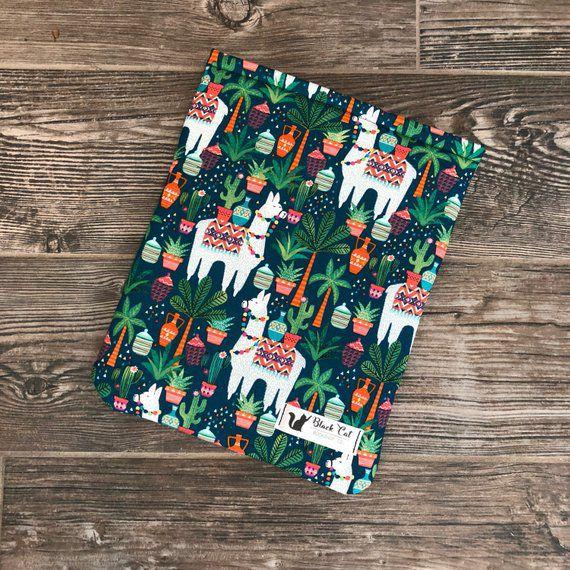 llama book sleeve