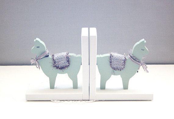 llama bookends