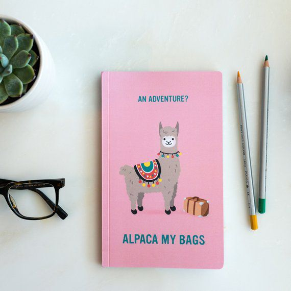 alpaca bullet journal