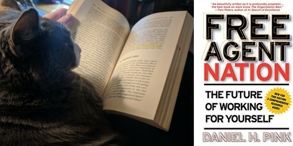 My cat reviews Free Agent Nation by Daniel H. Pink
