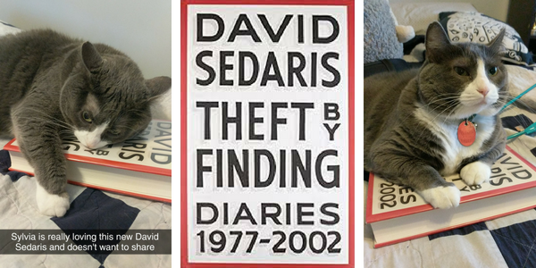 My cat reviews Theft by Finding by David Sedaris