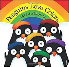 Penguins Love Colors book cover
