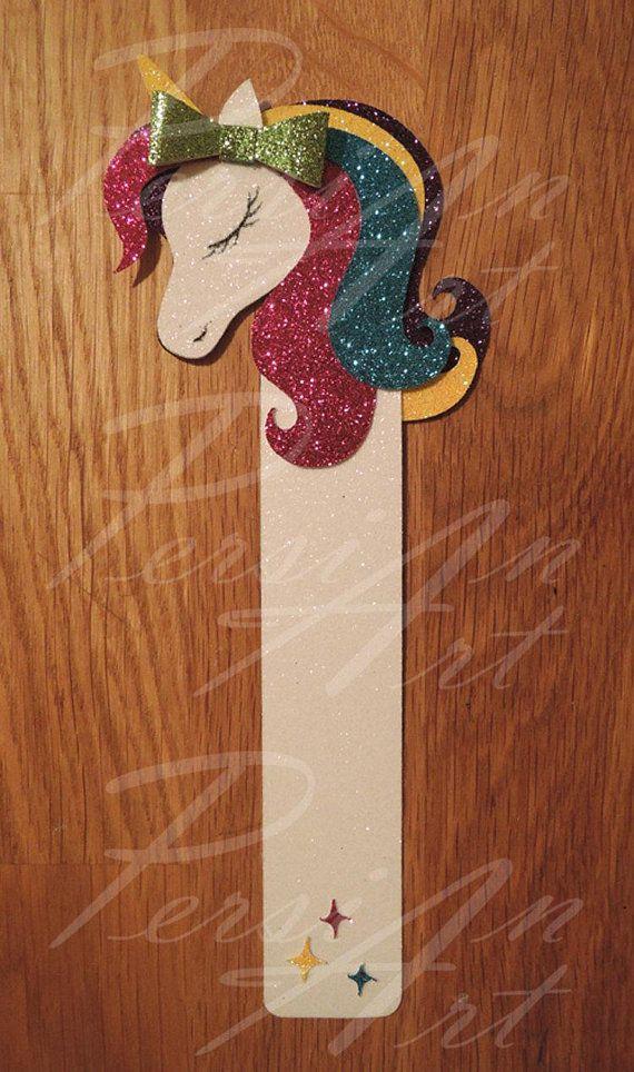 unicorn bookmark