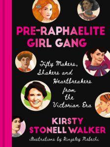 pre-raphaelite girl gang book cover