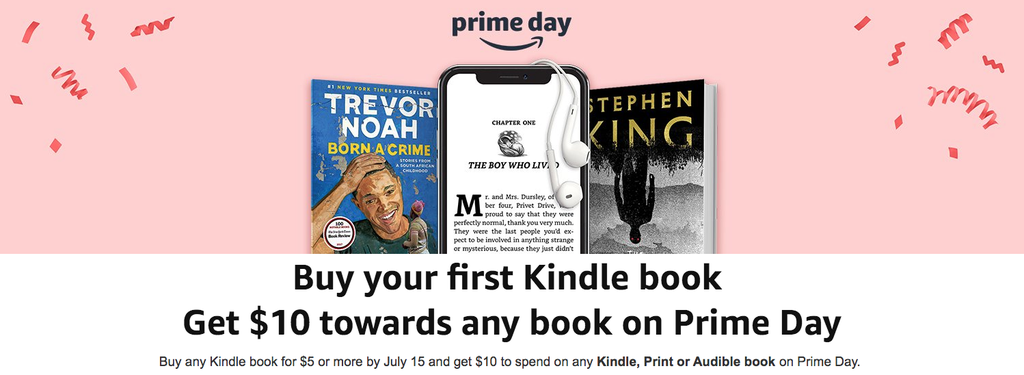 prime day kindle deal
