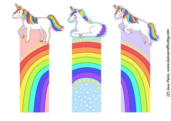 unicorm bookmarks