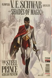 shades of magic: the steel prince comic book cover