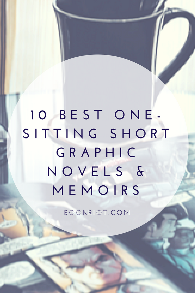 Short graphic novels and graphic memoirs to read in a single sitting