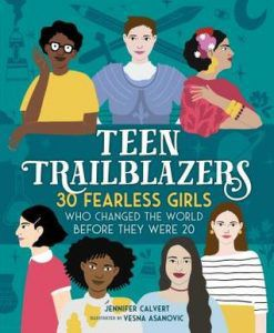 teen trailblazers book cover