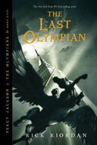 the last olympian rick riordan cover