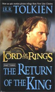 the return of the king by jrr tolkien cover