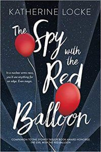 the spy with the red balloon by katherine locke book cover