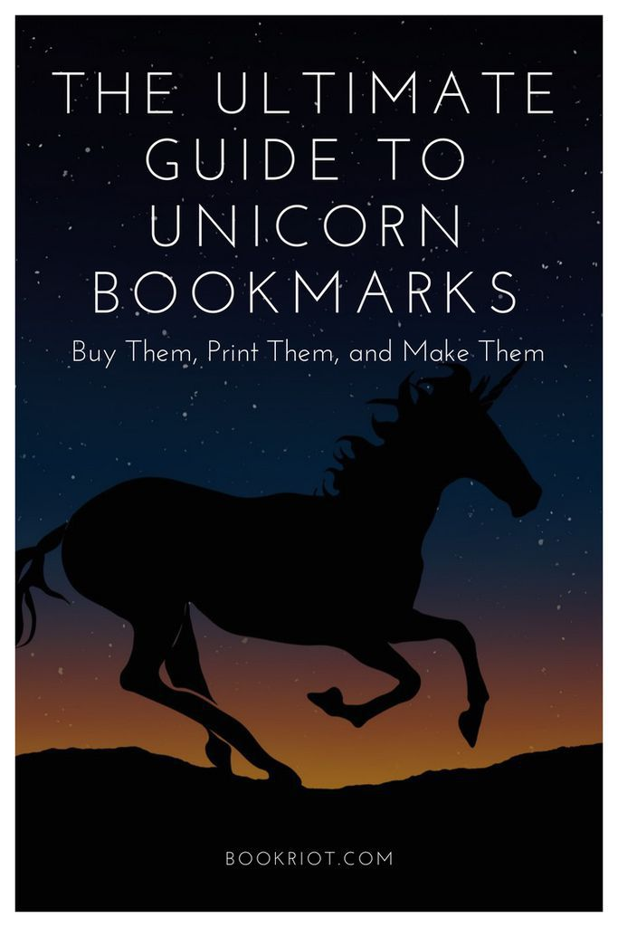 The ultimate guide to unicorn bookmarks: buy them, make them, and print them. DIY | DIY bookmarks | unicorns | unicorn bookmarks | tutorials