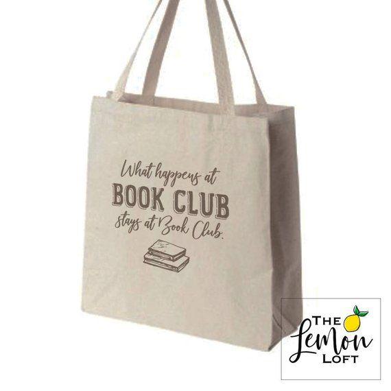 What Happens At Book Club Big Book Bag
