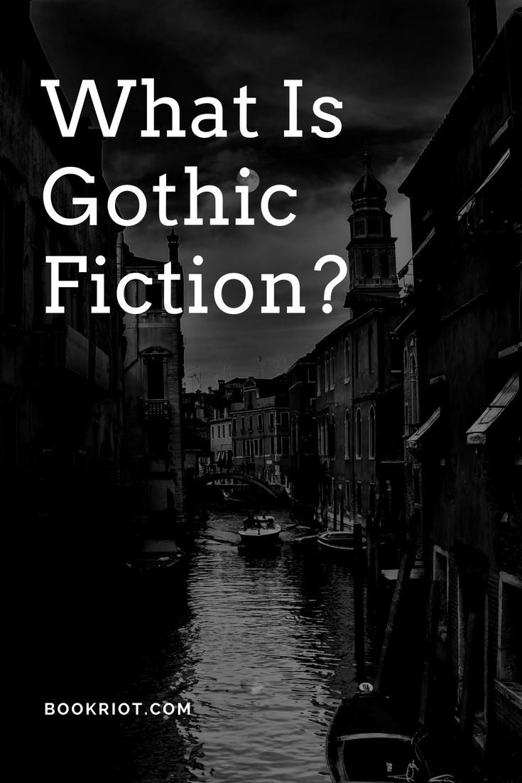 famous gothic novels