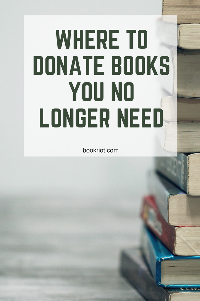 Where To Donate Books You No Longer Need (Or Sell If You