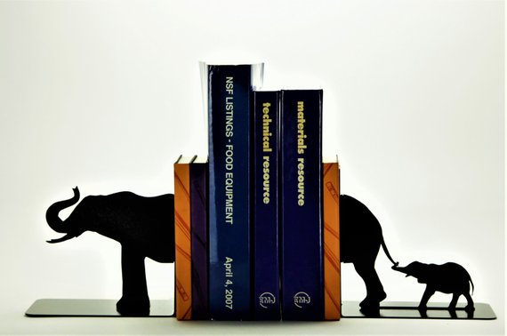 10 Of The Best Elephant Bookends to Hold Up Your Books