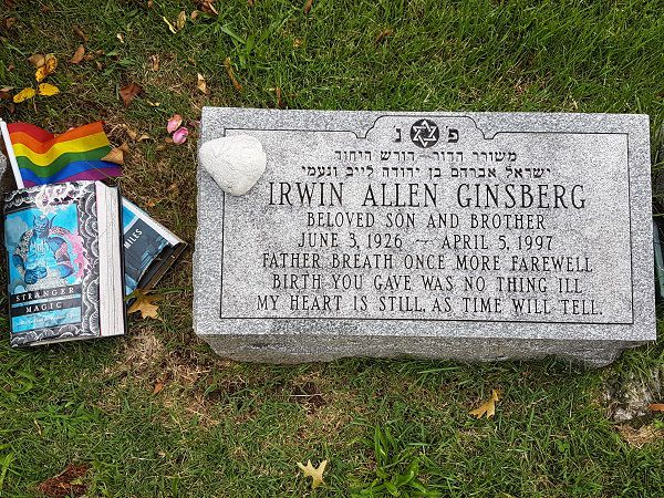 Allen Ginsberg grave