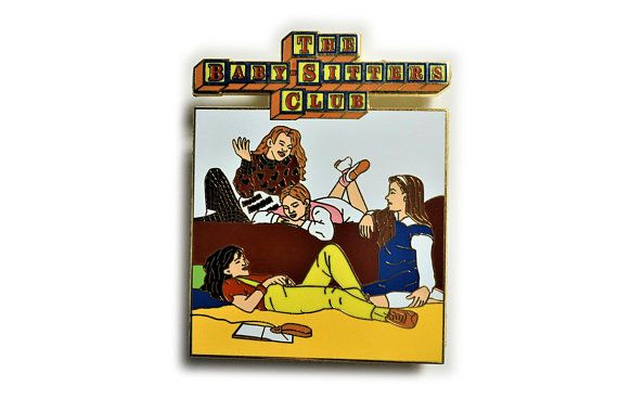Baby Sitters Club Pin