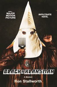 Cover of Black Klansman by Ron Stallworth
