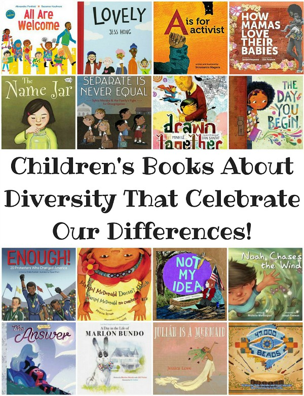 30 Children's Books About Diversity That Celebrate Differences