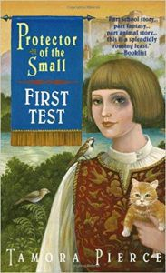 First Test by Tamora Pierce cover