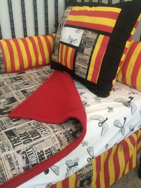 Harry Potter Crib Bedding Etsy