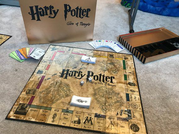 Harry Potter and the Game of Monopoly Etsy