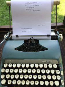 The Typewriter Project typewriter