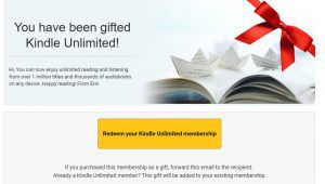 Kindle Unlimited Gift | Book Riot