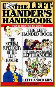 Cover Left Handers Handbook by James T de Kay