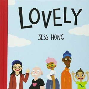 Short Stand-alone Graphic Novels- Lovely by Jess Hong cover