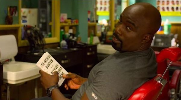 Luke Cage reads Between the World and Me
