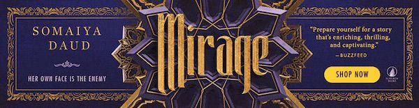 Mirage book promo