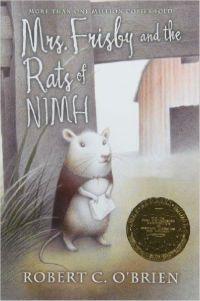 Mrs Frisby and the Rats of Nimh Robert C Obrien Cover