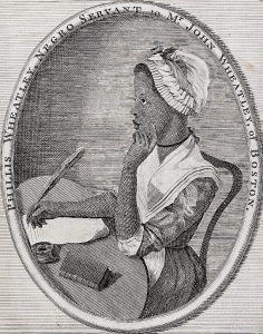 18th Century American Poet Phillis Wheatley