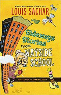 Histórias laterais da capa de Louis Sachar da Wayside School