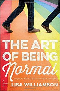 The Art of Being Normal by Lisa Williamson cover