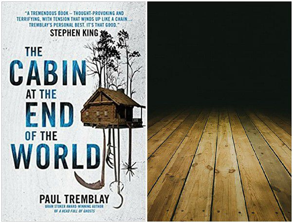 pefect place to read THE CABIN AT THE END OF THE WORLD, dark room