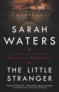 the little stranger by sarah waters cover haunted house books