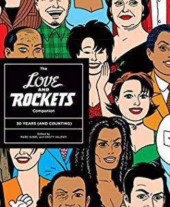 The Love and Rockets Companion by Gilbert Hernandez and Jaime Hernandez