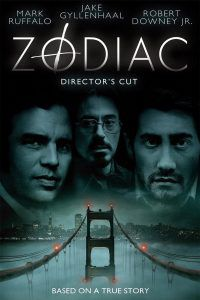 Zodiac: one of 23 Terrifying Horror Movies based on True Stores movie poster