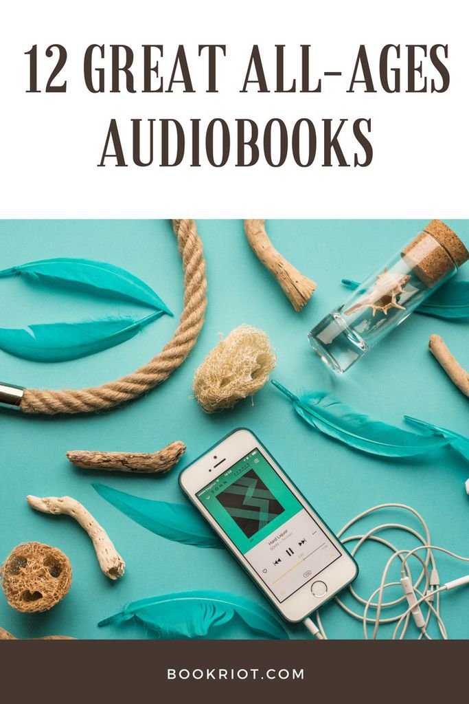 12 great all-ages audiobooks. audiobooks | audiobooks for all ages | kids audiobooks | adult audiobooks | audiobooks to listen to