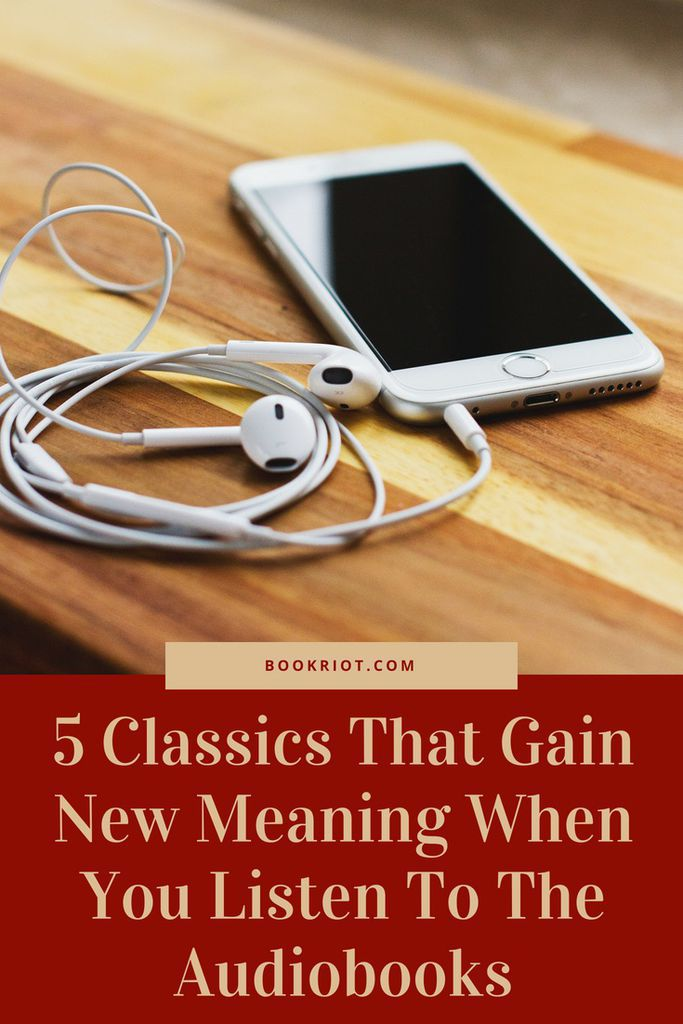 Try these classics on audiobook and find a whole new meaning to them. book lists | audiobooks | classics on audiobooks | classic books